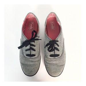KEDS Champion Originals Grey Denim Sneakers